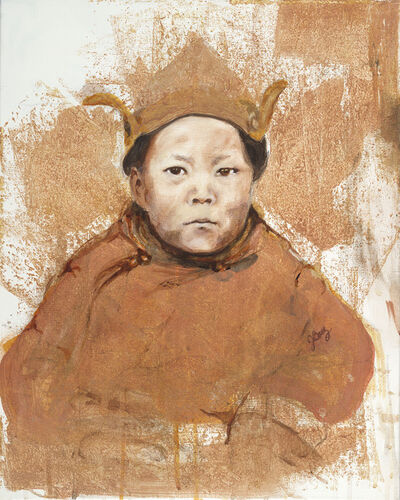 Joan Baez, 'Dalai Lama as a Boy', 2016
