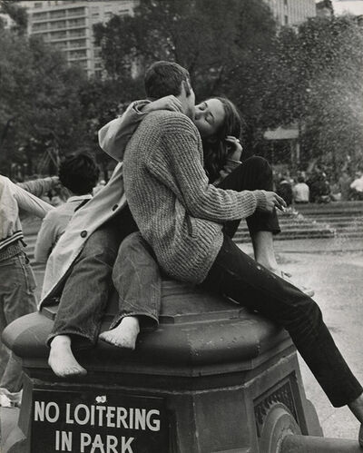 André Kertész, 'Washington Square Park, New York City', 1962/1960s