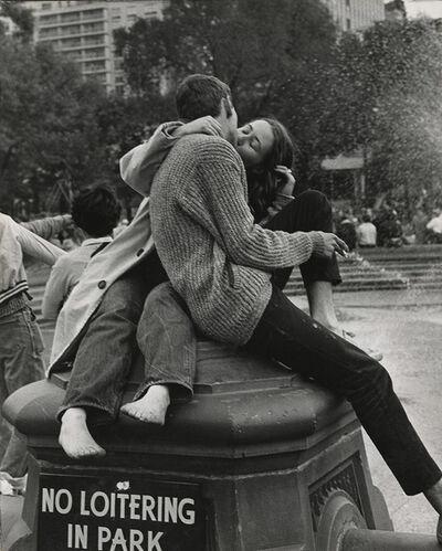André Kertész, 'Washington Square Park, New York City', 1962/1960s