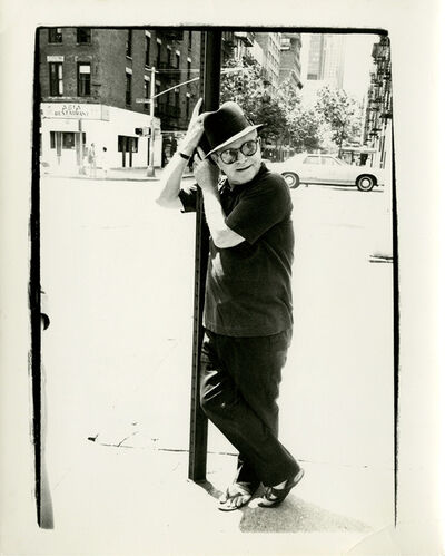 Andy Warhol, 'Truman Capote on Street Lamp', 1977