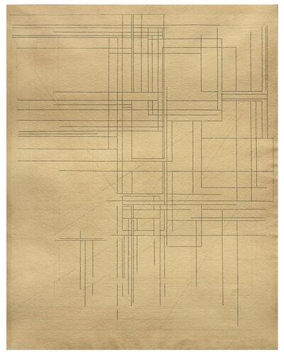 Pablo Palazuelo, 'Four´s traces', 1987