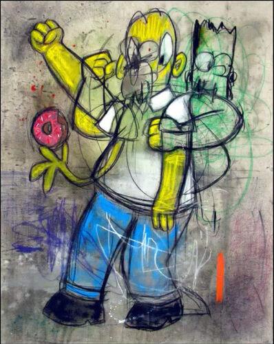 George Morton-Clark, 'Disco doughnuts Homer at studio 54'