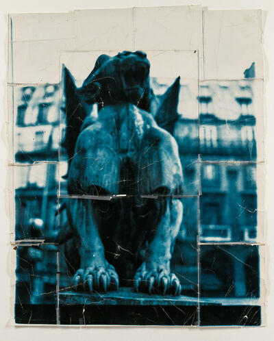 Doug & Mike Starn, 'Place St. Michel (Blue)', 1985