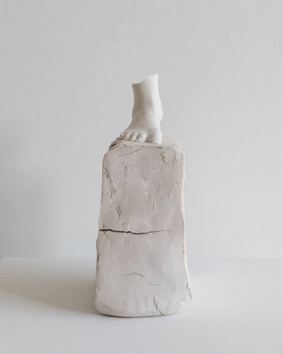 Kylie Lockwood, 'The front portion of an archaistic foot standing firmly planted', 2019