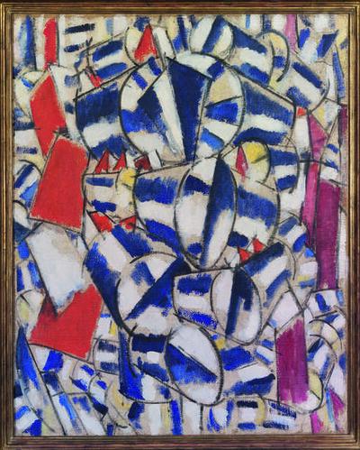 Fernand Léger, 'Contraste de formes (Contrast of Forms)', 1913