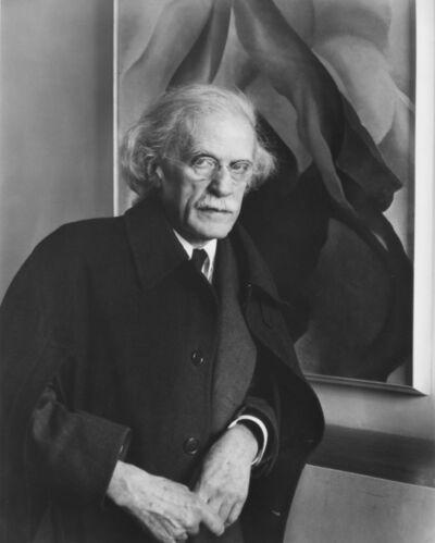 Imogen Cunningham, 'Alfred Stieglitz, Photographer, 1934', 1991