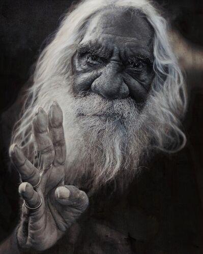 Vincent Fantauzzo, 'Portrait of Kudditji Kngwarreye (panel 2 of triptych)', 2016