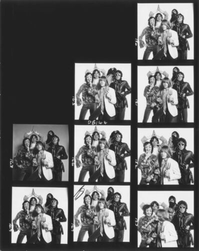 David Bailey, 'Rolling Stones Contact Sheet', 1966