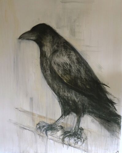 Jane Rosen, 'Painted Raven', 2012