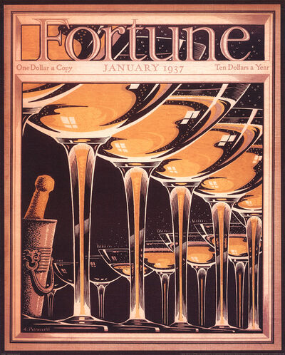 Antonio Petruccelli, 'Fortune Cover (January 1937)', 1998