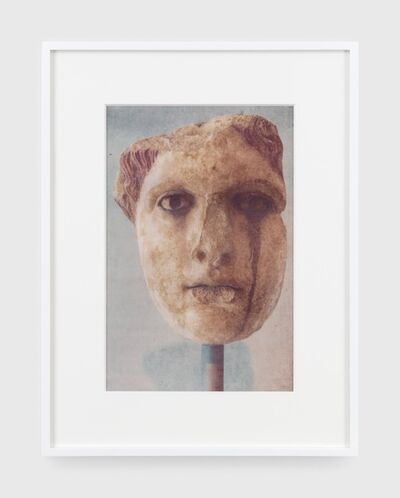 James Welling, 'Head of a goddess', 2019