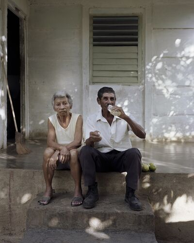 Caterina Maina, 'Javo and Eldi on the Steps', 2020