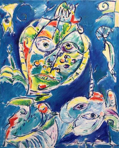 Carl-Henning Pedersen, 'By The Birds Nest', 1976