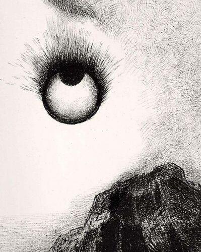Odilon Redon, 'Partout des Prunelles Flamboient', 1888