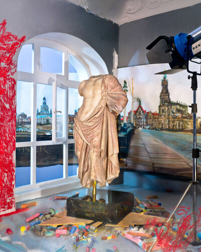 Lois Renner, 'Der rote Mantel (The Red Cloak)', 2012