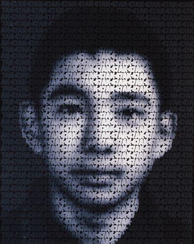 Zhang Dali, 'AK-47 (Q1)', 2009