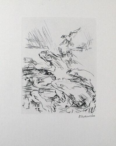 Oskar Kokoschka, 'Die Frösche / The Frogs', 1969