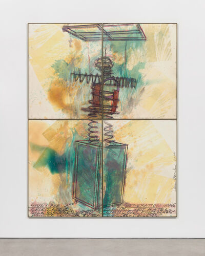 Dennis Oppenheim, 'Study for 2nd Generation Image, Spirit Stove', 1988