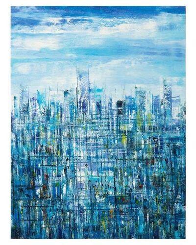 Cheng Jinlu, 'Blue Metropolis'