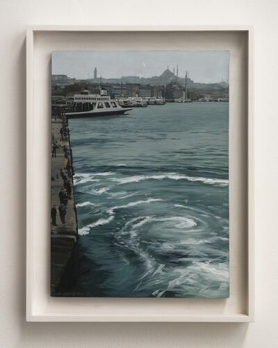 Richard Estes, 'Ferry Boats,', 1999