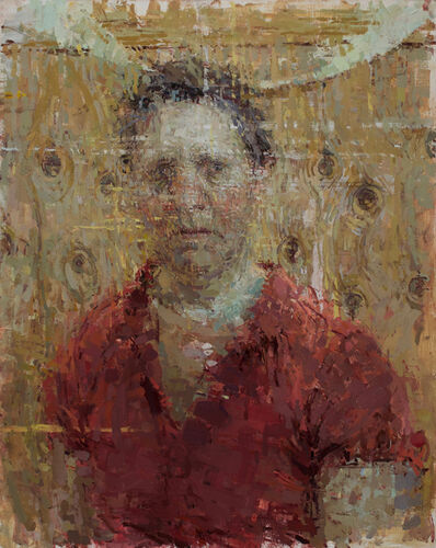 Ann Gale, 'Self Portrait with Knots', 2017