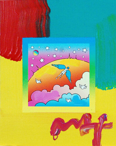 Peter Max, 'Angel Clouds on Blends (Ref. # 402)', 2007
