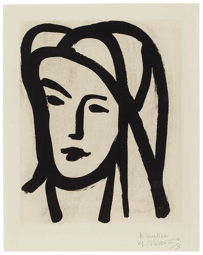 Henri Matisse, 'Bédouine au grand voile', 1947