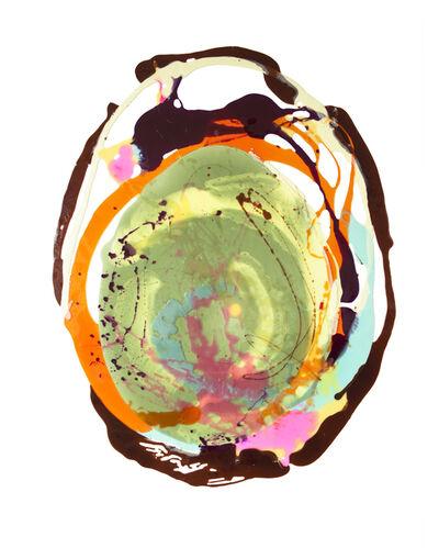 Stefanie Brehm, 'schoko orange grün ', 2015