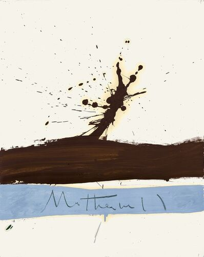 Robert Motherwell, 'Beside the Sea No. 1', 1962