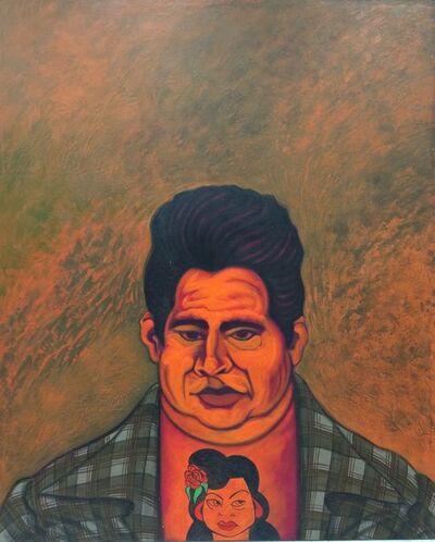 César A. Martínez, ' A Man and His Dream Girl', ca. 1989