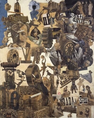 Hannah Höch, 'Cut with the Dada Kitchen Knife through the Last Weimar Beer-Belly Cultural Epoch in Germany', 1919