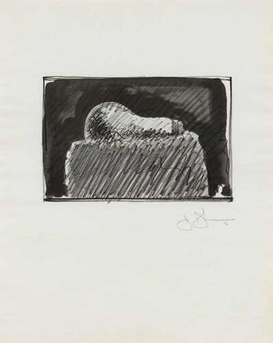 Jasper Johns, 'Light Bulb', 1976