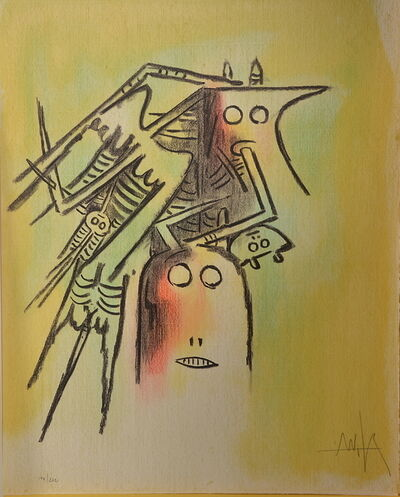 Wifredo Lam, 'Pleni Luna planche 5 ', 194