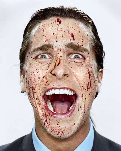 Martin Schoeller, 'Christian Bale with Blood', 2000