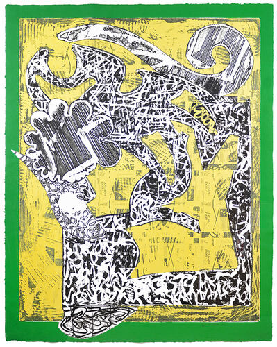 Frank Stella, 'Green Journal', 1985