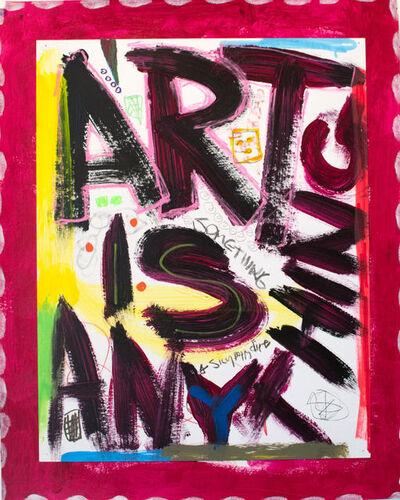 Rodney Durso, 'Art is Anything (Magenta)', 2015