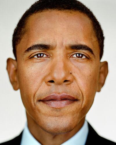 Martin Schoeller, 'Barack Obama', 2004