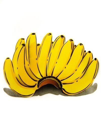 Bananensprayer Thomas Baumgärtel, 'Bananenhand', 2004