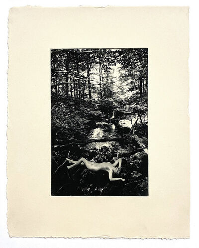 Indira Cesarine, 'Eve by the River (photogravure)', 2018