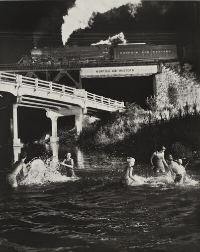 O. Winston Link, 'Hawksbill Creek Swimming Hole, Luray, Virginia', 1956