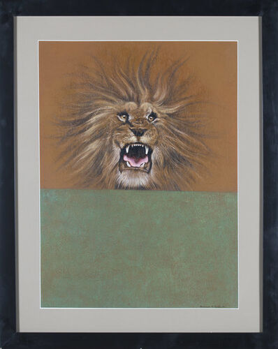 Clarence Holbrook Carter, 'Over and Above: Lion', 1974