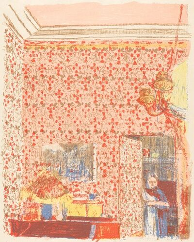 Édouard Vuillard, 'Interior with Pink Wallpaper I (Interieur aux tentures roses I)', ca. 1896 (published 1899)