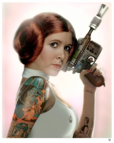JJ Adams, 'Princess Leia (colour)', 2015
