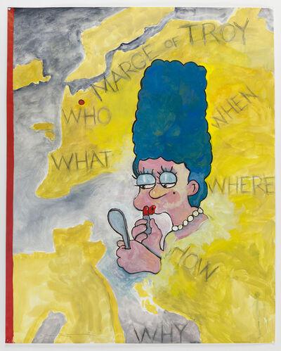 Terry Allen, 'Homer's Notebook 2-12', 2012