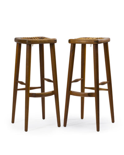 Sam Maloof, 'A pair of barstools, No. 88', 1975