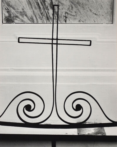 Brett Weston, 'Untitled [Wire Cross]', 1956