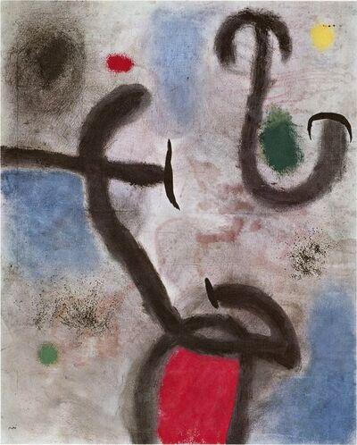 Joan Miró, 'Derrière le Miroir, Signed in Plate, Joan Miro', 1946-1982