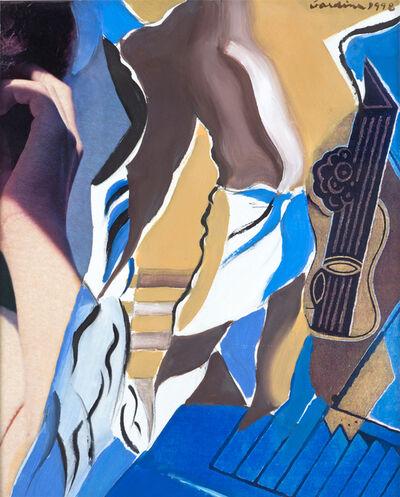 Ginnie Gardiner, 'Blue Shadows', 1998