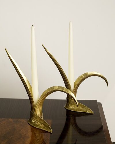 Marc Bankowsky, 'Pair of Herbes Folles Candlesticks', 2009