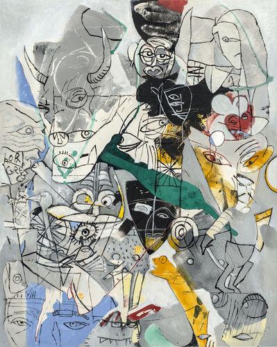 Gregor Hiltner, 'TAROT, der Teufel', 2003